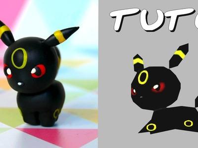 TUTO FIMO | Noctali. Umbreon (de Pokémon Rumble World)