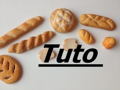 Tuto  Fimo - Pains de boulangerie