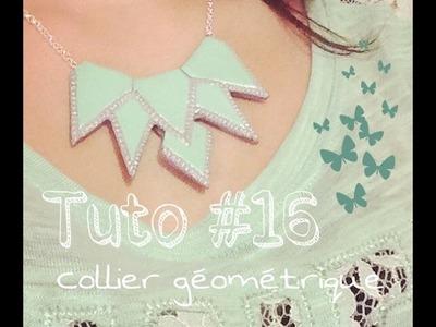 Tuto #16 : collier géométrique