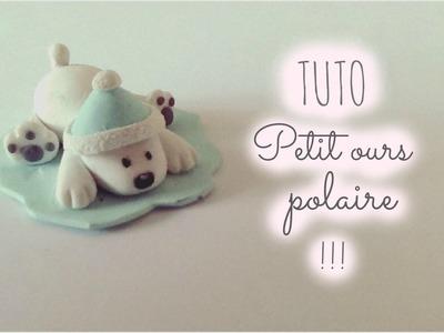 || TUTO FIMO || Petit ours polaire