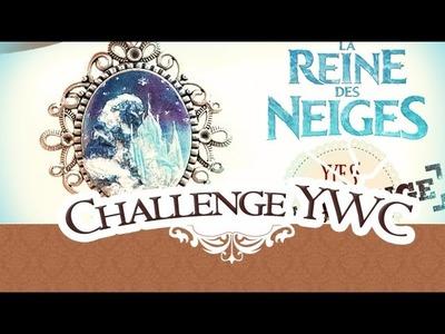 YWC#9: CHALLENGE !!! VS SucreRoux POLYMÈRE, CHÂTEAU, REINE DES NEIGES. PtitAtelier