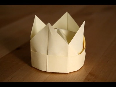 Origami - Couronne - Crown [Senbazuru]