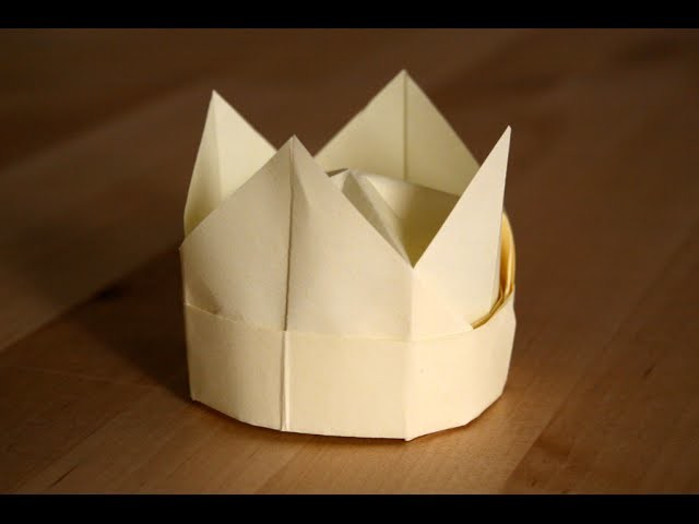 Origami - Couronne - Crown [Senbazuru]