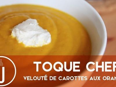 Toque Chef d'après-fêtes - Velouté de carottes aux oranges