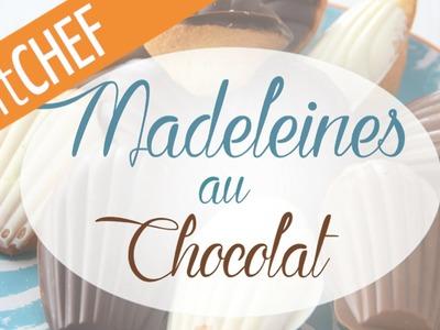 Recette de Madeleines au chocolat, Ptitchef.com, Pas à pas, Stop Motion