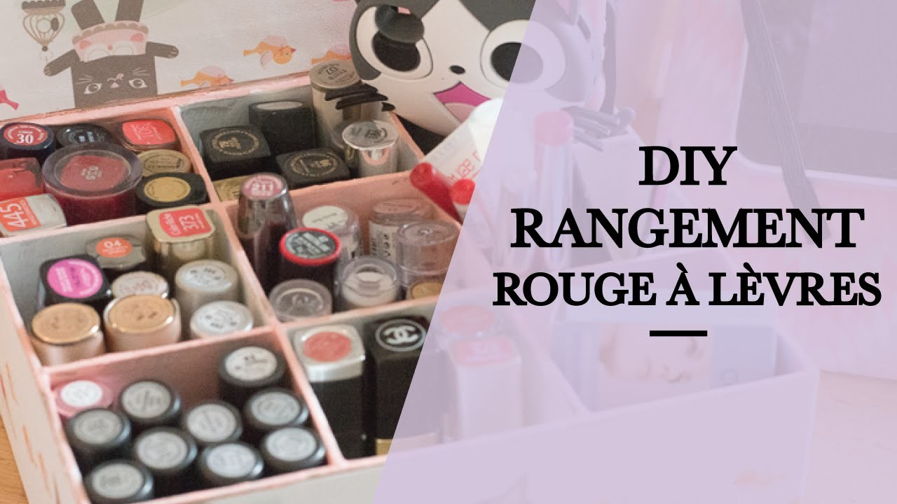 diy rangement rouge l vres. Black Bedroom Furniture Sets. Home Design Ideas