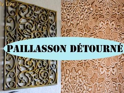 DIY Relooking et détournement du paillasson, décoration facile.