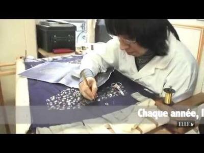 La maison Lesage - La broderie haute couture - ELLE Rencontre