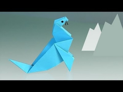Comment faire une Phoque, origami