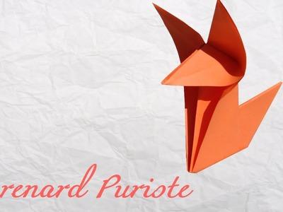 Origami ! Le renard puriste