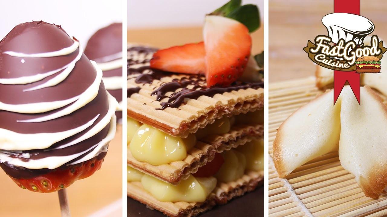 Bon Plan pour la ST-Valentin : 3 recettes super simples et rapides