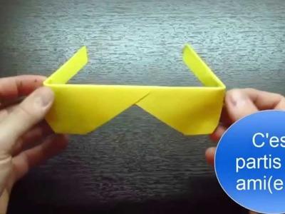 Comment faire des lunettes en papier ?