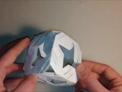 Comment faire un cube étoilé - modular origami tutorial - A cube full of stars