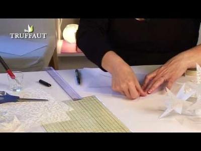 DIY déco Noël : étoiles en papier