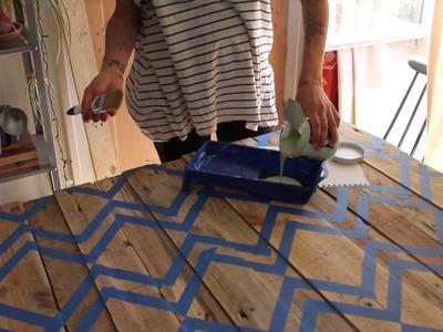 DIY Réaliser une tête de lit design avec la ponceuse Duosand BLACK+DECKER