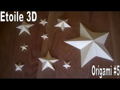Etoile 3D Origami #5