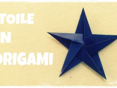 ÉTOILE de Noël - Comment faire une ÉTOILE en Papier - ÉTOILE en Origami