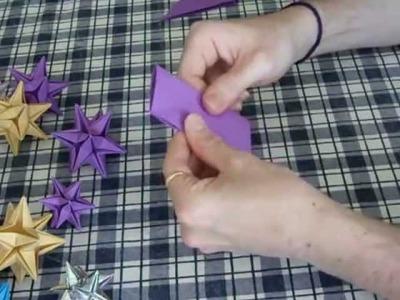 Étoile oméga en origami(part1)