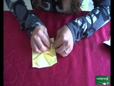 Fabrication d'une étoile améliorée suivant l'art de l'origami