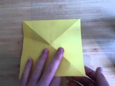 Faire un poisson en origami - Poissons en papier