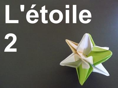 L'étoile 2  Difficulté : facile