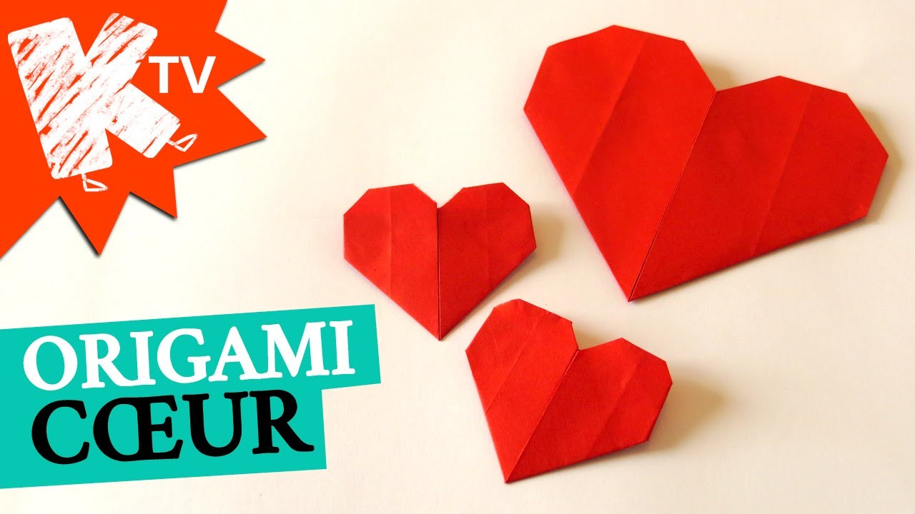 origami coeur facile. Black Bedroom Furniture Sets. Home Design Ideas