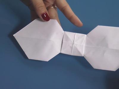 Origami - Comment faire un nœud papillon en papier