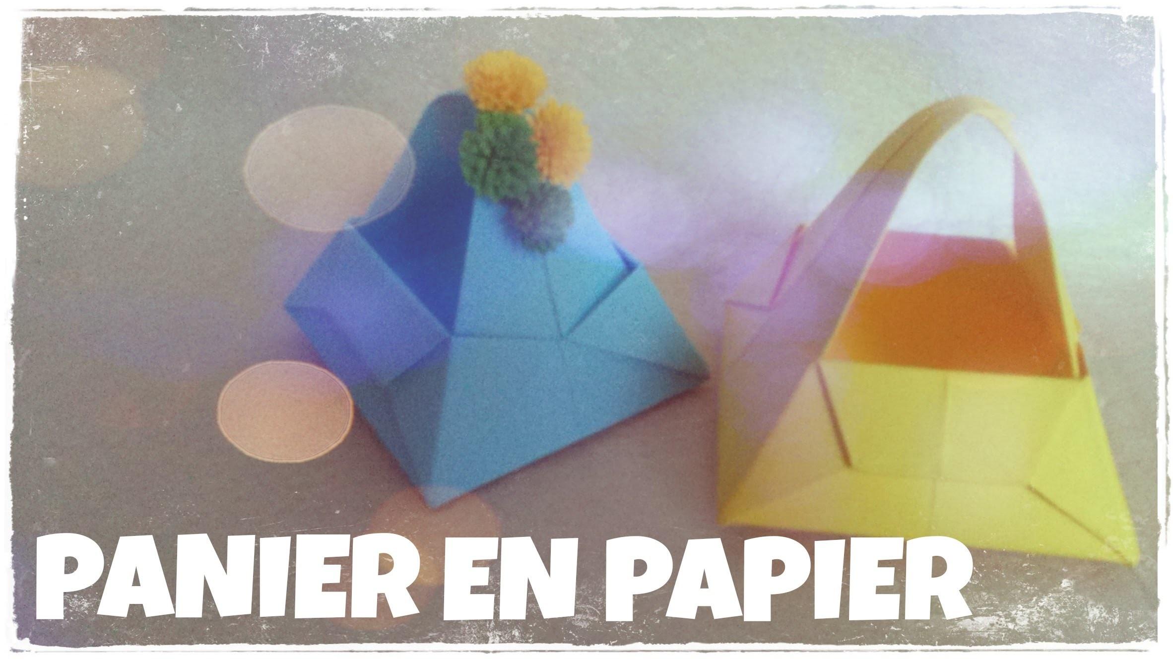 origami origami facile panier origami facile. Black Bedroom Furniture Sets. Home Design Ideas