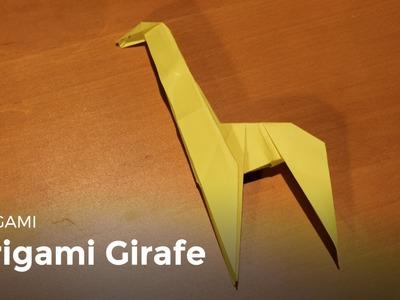 Origami : Faire une girafe en papier - HD
