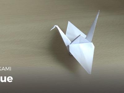 Origami : Faire une Grue