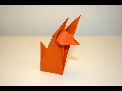 Origami - Renard - Fox [Senbazuru]