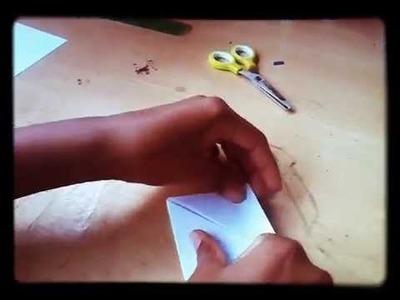 """Petit cube """" magique"""" facile à réaliser"""