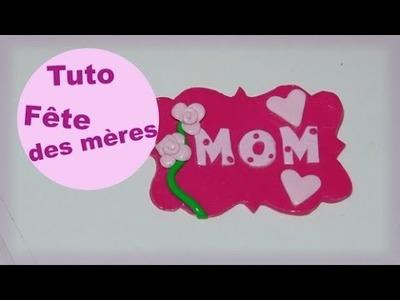 [Tuto fimo n°46] Création pour la fête des mères ♡