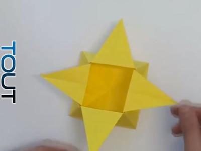 Tuto Origami : boîte en forme d'étoile