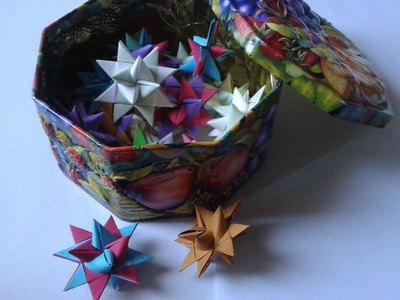 [TUTORIEL] Etoile en papier (moravian star)