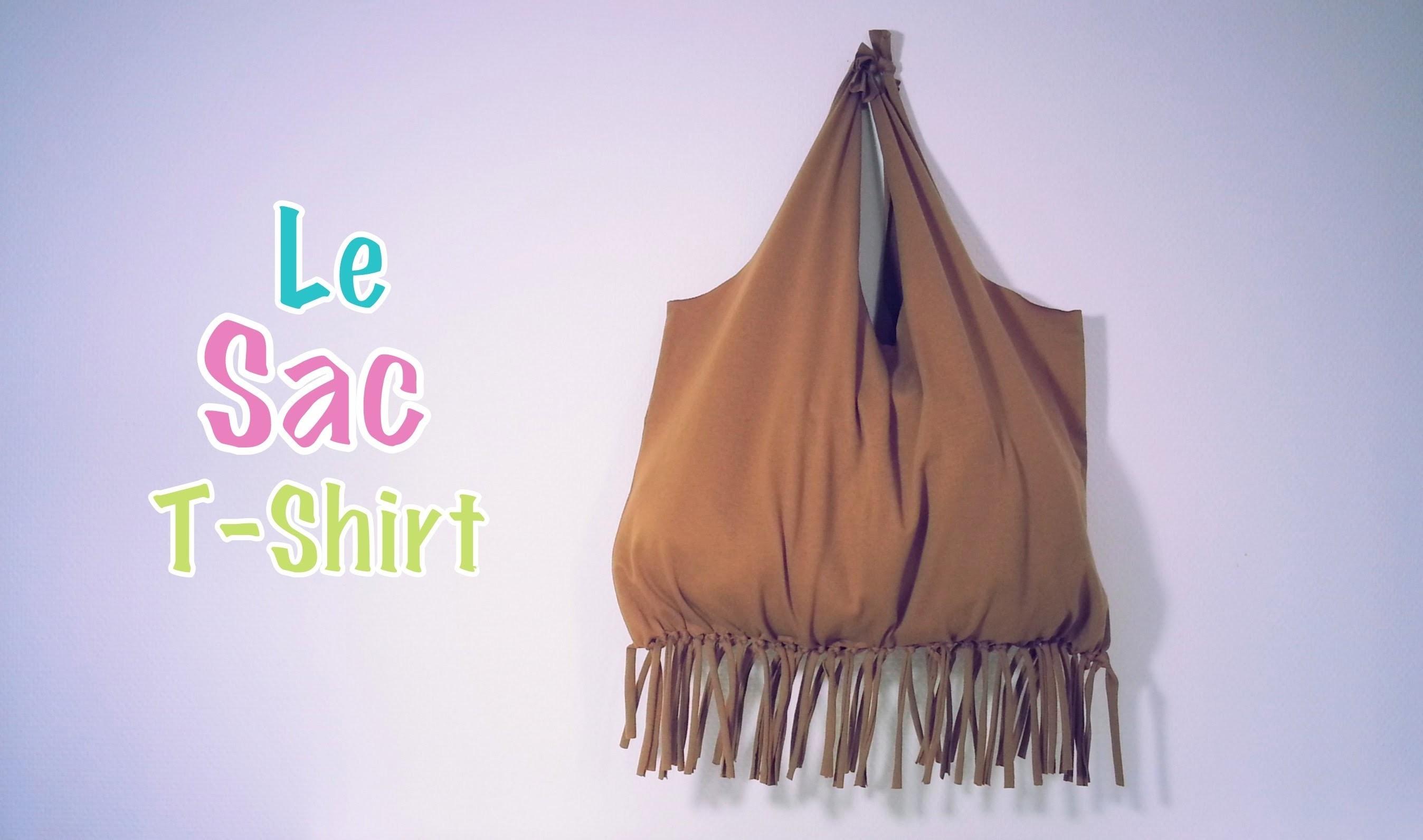 diy recyclage sac avec un t shirt. Black Bedroom Furniture Sets. Home Design Ideas