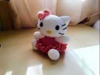 Hello kitty amigurumi crochet