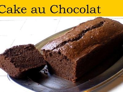 Le cake au chocolat (recette rapide et facile) HD