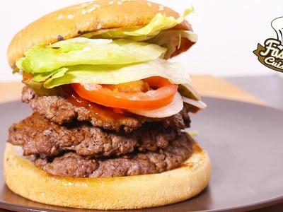 Recette Burger King : Le Triple Whopper