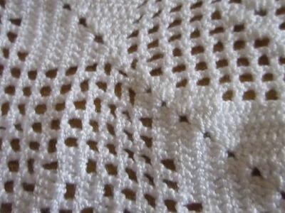Cobija en crochet para cama doble MVI 0003