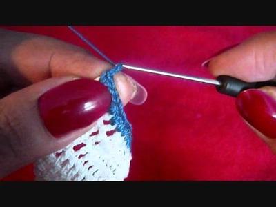 Häkeln Dessous Ensemble Teil 2. crochet Part 2