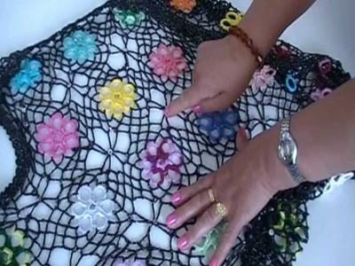 Comparte tu talento: Chaleco de crochet. Parte III