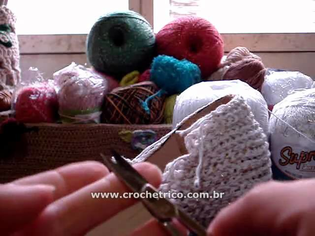CROCHE - Scarpin Reveillon - 02.03