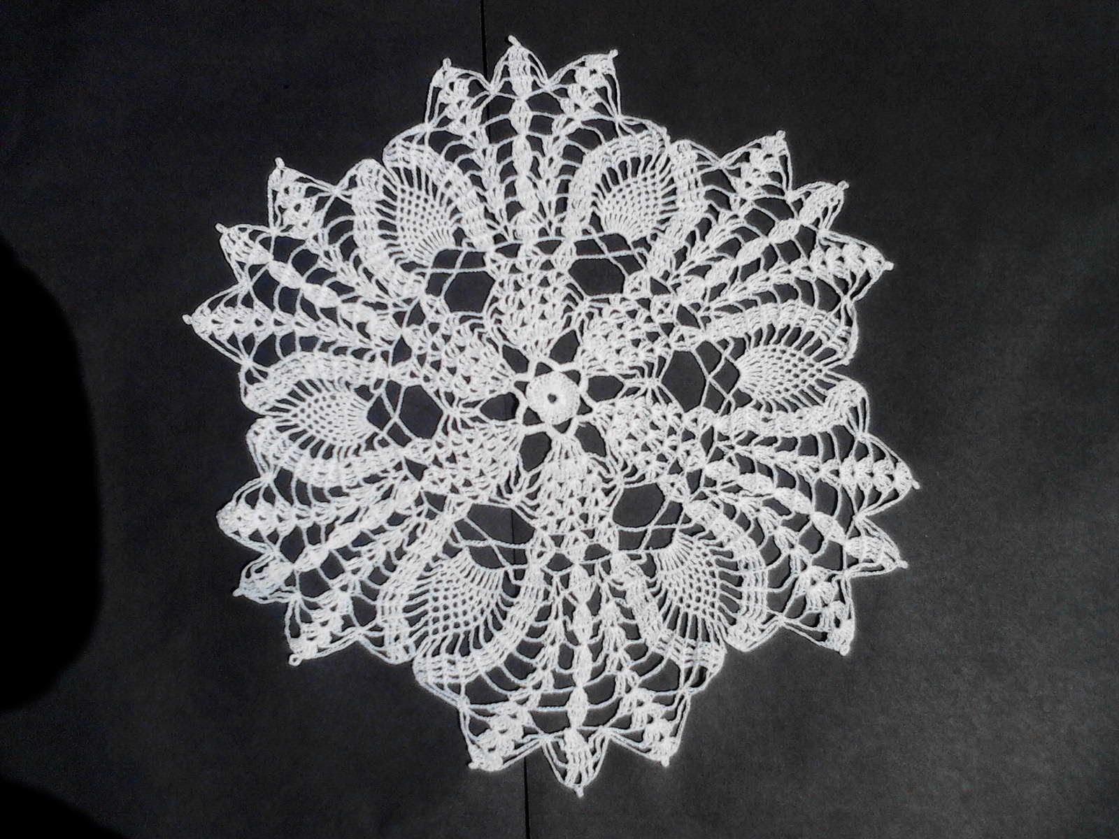 3 de 3 carpeta grande crochet