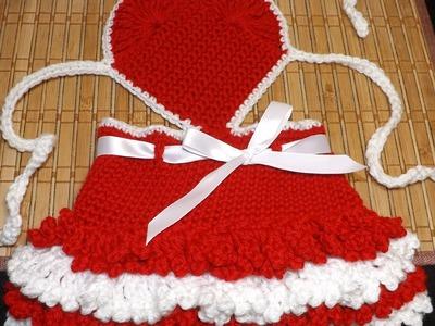 Crochet Vestidito De San Valentin
