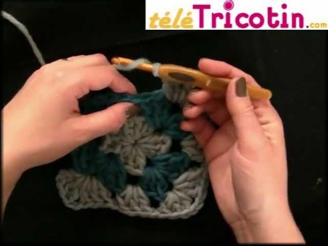 Crocheter un SUPER GRANNY square