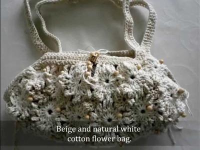 Crochet Flower bags