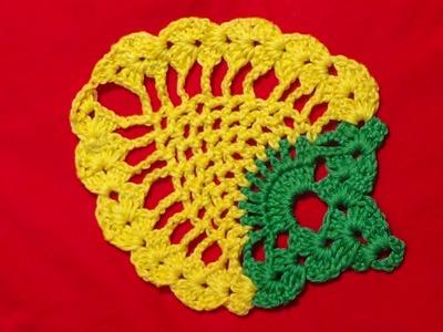 Crochet  Pinapple Motif-1
