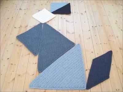 Crochet Rug Tangram
