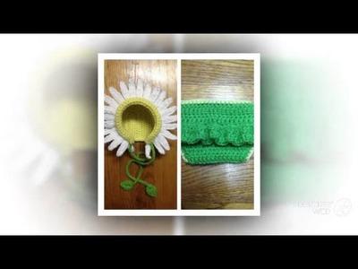 Daisy's Daisy Crochet Bonnet Pattern